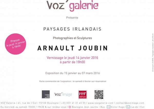 INVITATION_Paysages Irlandais_Arnault JOUBIN_14-01-16-2-2