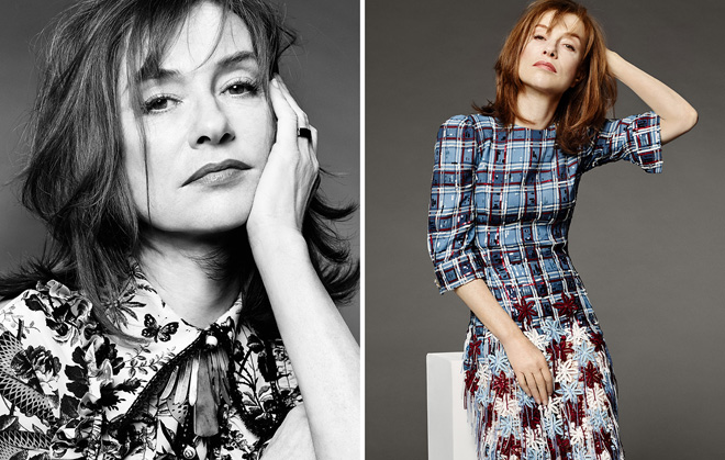 ©Magazine Grazia - Isabelle Huppert - Photographer Laurent Humbert